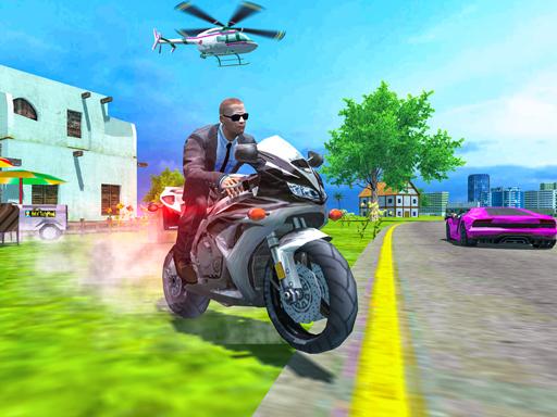 Police Motorbike Driver