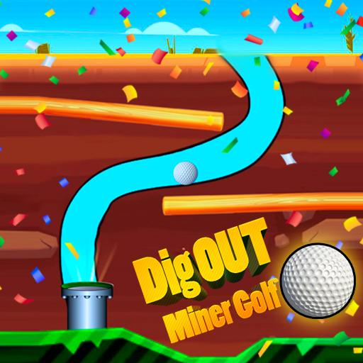 Dig Out Miner Golf