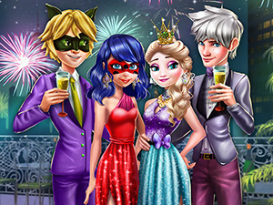 Couples New Year Party