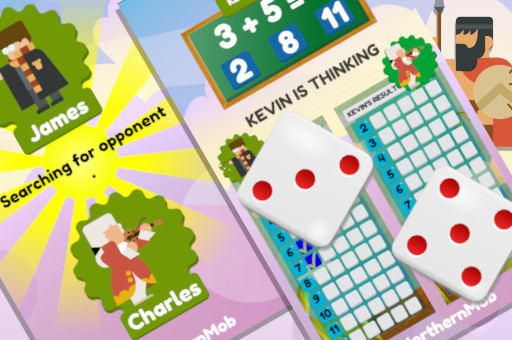 Math And Dice Kids Educational Game