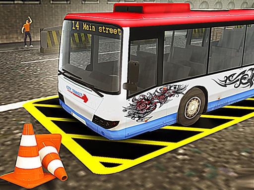 Vegas City Highway Bus Parking Simulator