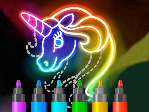 Learn to Draw Glow Cartoon
