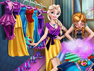 Ice Kingdom Wardrobe Cleaning