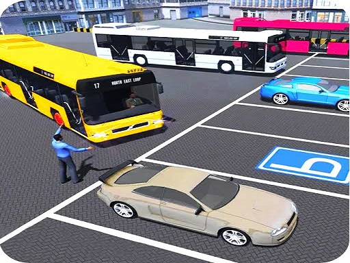 City Bus Parking : Coach Parking Simulator 2019