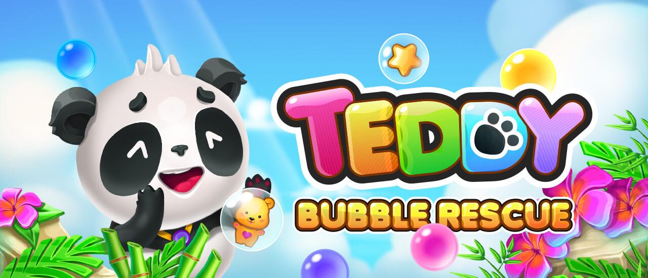 Teddy Bubble Rescue