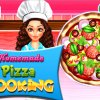 Homemade Pizza Cooking