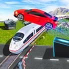 Marvelous Highway Car Stunt Ramp Car Stunt Race