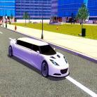 Big City Limo Car Driving Game