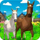 Horse Family Animal Simulator 3D